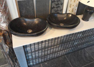 Vasque salle de bain en marbre