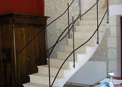 Escalier en marbre à Liège