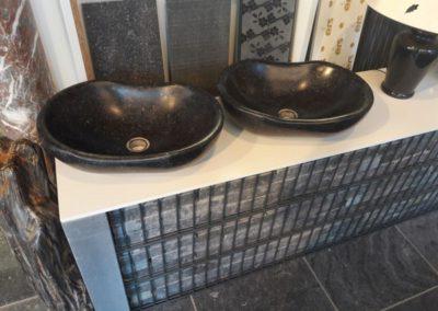 Salle de bain en marbre à Liège