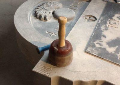 Décoration extérieure en marbre
