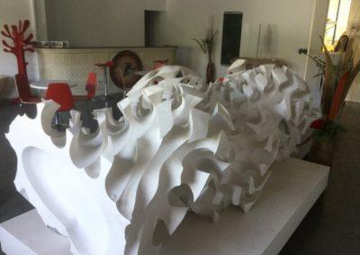 Décoration intérieure en marbre