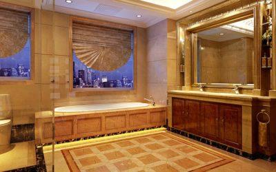Une salle de bain en marbre: c'est possible !